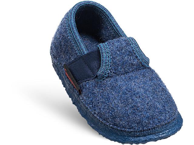 Giesswein Türnberg Zapatillas de Casa Niños, azul